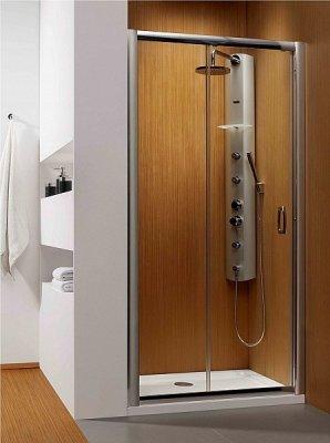 Дверь в нишу Radaway Premium Plus DWJ 140 (1372-1415x1900) прозрачная/хром (33323-01-01N)