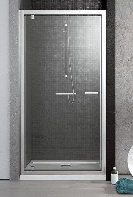Дверь в нишу Radaway Twist DW 80 (785-810х1900) коричневая/хром (382001-08)