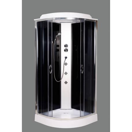 Душевой бокс с мелким поддоном без электрики AquaStream Junior 99 LB